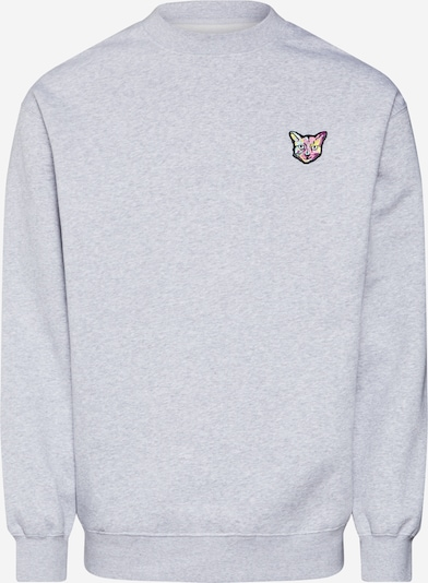 PARI Sweat-shirt 'Paula' en gris chiné, Vue avec produit