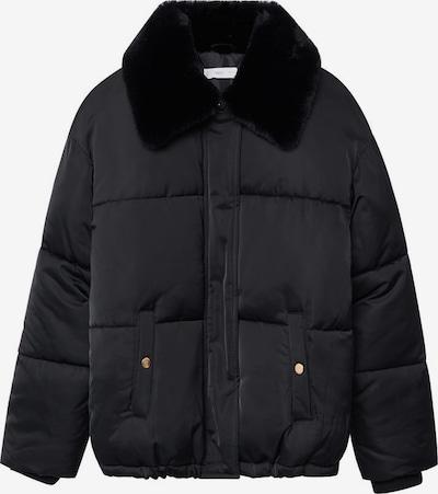 Palton MANGO KIDS pe negru, Vizualizare produs