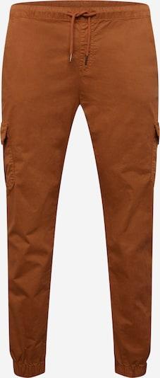 Urban Classics Curvy Pantalon cargo en marron, Vue avec produit
