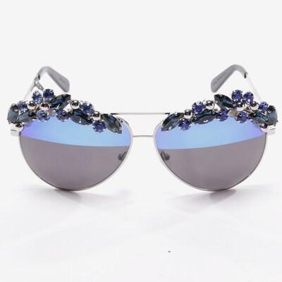 Philipp Plein Sonnenbrille in One Size in silber, Produktansicht