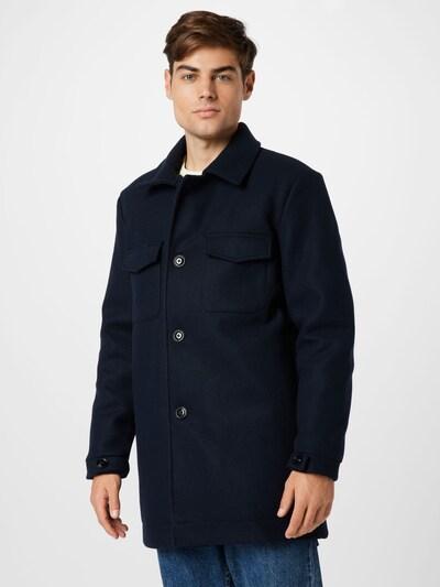 s.Oliver Mantel in dunkelblau, Modelansicht