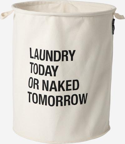 ABOUT YOU Wäschekorb 'Comfy L' in beige / schwarz, Produktansicht