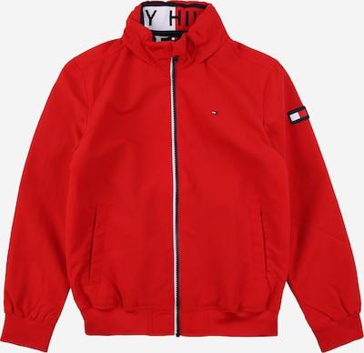TOMMY HILFIGER Veste mi-saison 'ESSENTIAL' en rouge clair / noir / blanc, Vue avec produit
