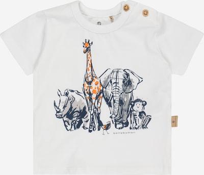 BELLYBUTTON T-Shirt in navy / grau / dunkelorange / weiß, Produktansicht