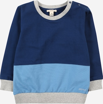 ESPRIT Sweatshirt in Blau