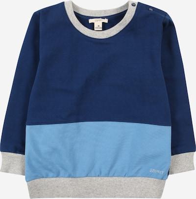 ESPRIT Sweatshirt in Night blue / Light blue / Grey, Item view