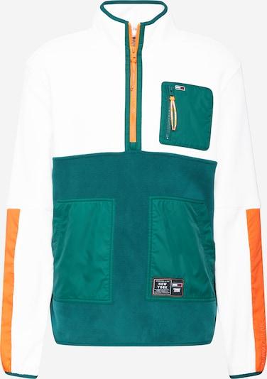 Tommy Jeans Neulepaita värissä vihreä / oranssi / valkoinen, Tuotenäkymä