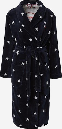 Ilgas vonios chalatas iš Tommy Hilfiger Underwear , spalva - tamsiai mėlyna / raudona / balta, Prekių apžvalga