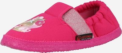 GIESSWEIN Huisschoenen 'Attendorn' in de kleur Beige / Gemengde kleuren / Rosa / Framboos, Productweergave