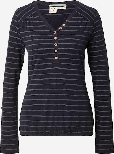 Ragwear Shirt in dunkelblau / weiß, Produktansicht