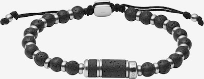 FOSSIL Armband in anthrazit / silber, Produktansicht