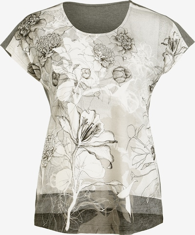 Vogelsang Blusenshirt in beige / grau / hellgrau, Produktansicht