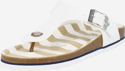 TOM TAILOR T-bar sandals in White, Item view