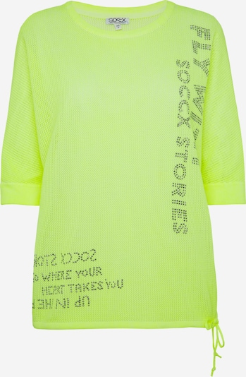 Soccx Pullover in neongelb, Produktansicht