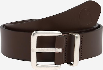 Carhartt WIP Riem in de kleur Donkerbruin / Zilver, Productweergave