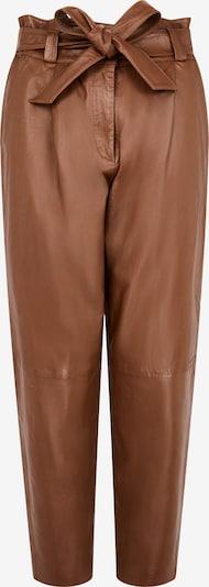 Aligne Pleat-Front Pants 'Belinda' in Chocolate, Item view
