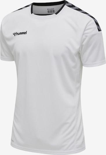 Hummel Functioneel shirt in de kleur Blauw / Donkergrijs / Zwart / Wit, Productweergave
