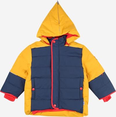 Giacca invernale 'KOIRA' FINKID di colore navy / giallo / rosso, Visualizzazione prodotti