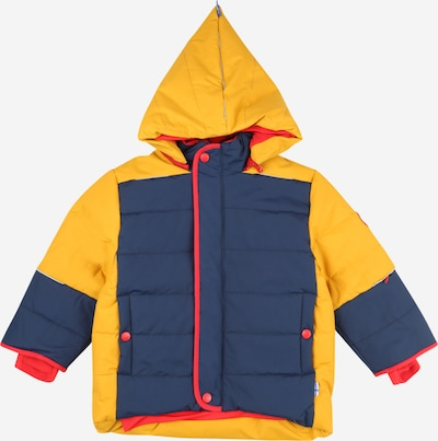 FINKID Jacke 'KOIRA' in navy / gelb / rot, Produktansicht