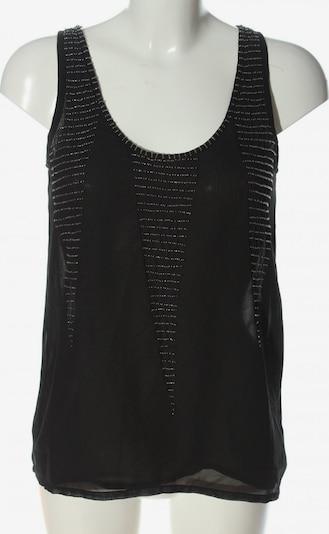 mbym Transparenz-Bluse in XS in schwarz, Produktansicht