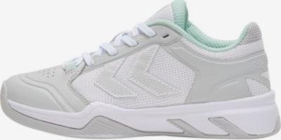Hummel Sneaker in grau / hellgrau / mint / weiß, Produktansicht