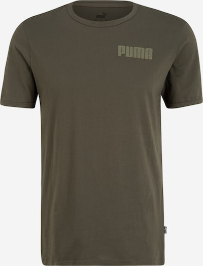 PUMA Functioneel shirt in de kleur Kaki / Olijfgroen, Productweergave