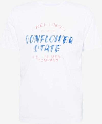 Lee Shirt in blau / rot / weiß, Produktansicht