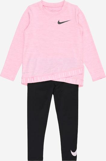 Treniruočių kostiumas iš NIKE , spalva - rožių spalva / juoda, Prekių apžvalga