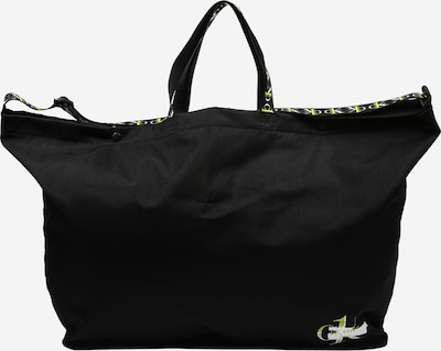 Calvin Klein Shopper in neongelb / schwarz / weiß, Produktansicht