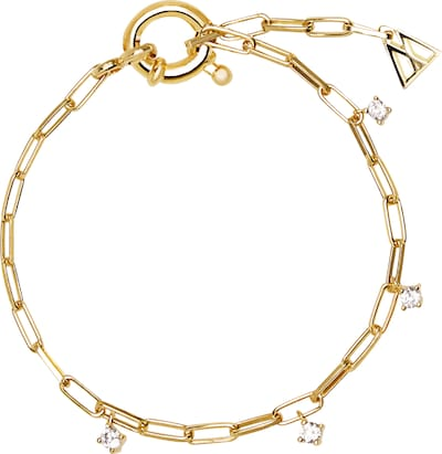 P D PAOLA Anillo 'Gina' en oro, Vista del producto