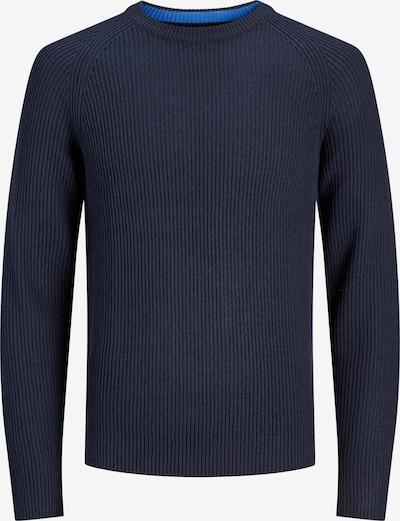 JACK & JONES Pullover in dunkelblau, Produktansicht