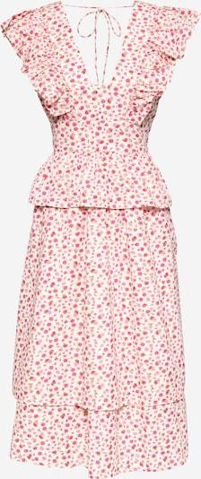 Y.A.S Kleid 'MUNLA' in gelb / grün / pink / weiß, Produktansicht