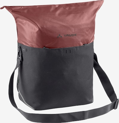 VAUDE Shopper 'CityShop Bike' in Anthracite / Rusty red, Item view