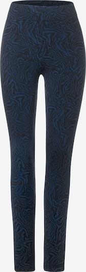 STREET ONE Leggings in rauchblau / schwarz, Produktansicht
