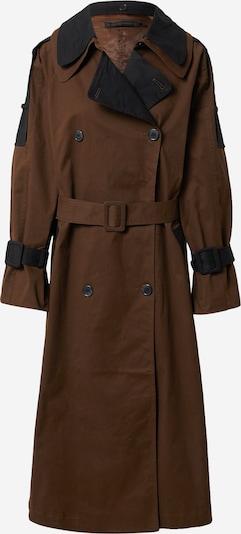 KAREN BY SIMONSEN Between-Seasons Coat 'Ivy' in Brown / Black, Item view