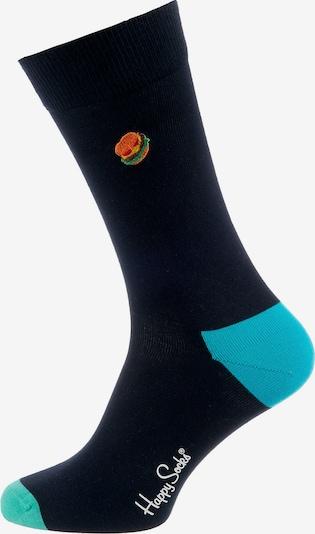 Happy Socks Socken in hellblau / dunkelblau / grün / mischfarben, Produktansicht
