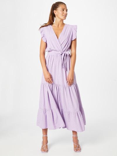 Hailys Kleid 'Julia' in lavendel / weiß, Modelansicht