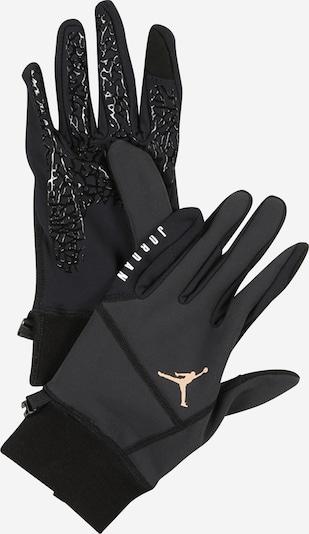 Jordan Γάντια με δάχτυλα 'HYPERSTORM' σε μαύρο / λευκό, Άποψη προϊόντος