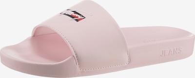 Tommy Jeans Claquettes / Tongs en rose clair, Vue avec produit