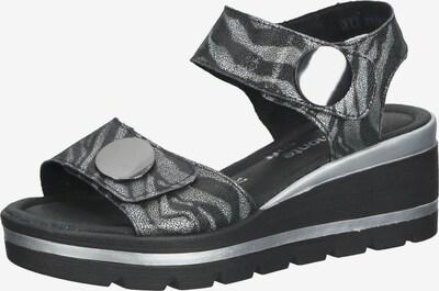REMONTE Sandalen in grau / anthrazit, Produktansicht