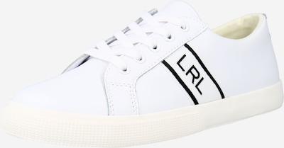 Lauren Ralph Lauren Matalavartiset tennarit 'JANSON II' värissä musta / valkoinen, Tuotenäkymä