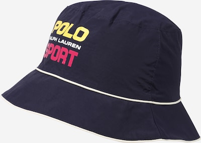 POLO RALPH LAUREN Klobúk - námornícka modrá / žltá / ružová / biela, Produkt