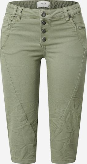 PULZ Jeans Püksid 'Rosita' oliiv, Tootevaade