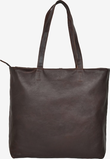 ADAX Shopper 'Perle' in dunkelbraun, Produktansicht