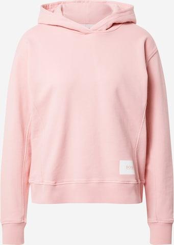 Sweat-shirt 'Esqua1' BOSS Casual en rose