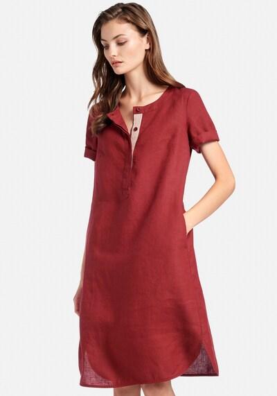 Peter Hahn Abendkleid in rot / bordeaux / dunkelrot, Modelansicht