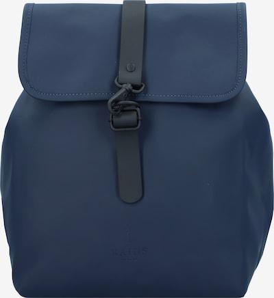 RAINS Backpack 'Bucket' in Dark blue / Black, Item view