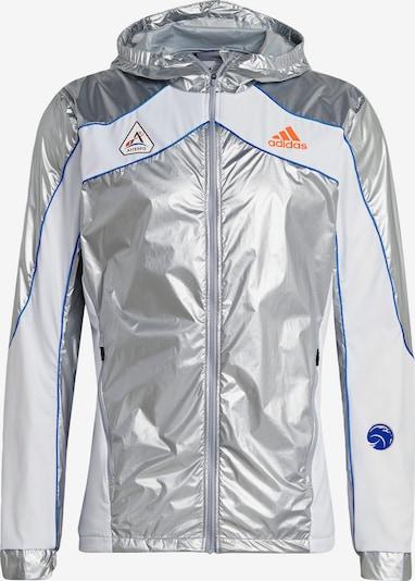 Giacca sportiva 'Marathon Space Race' ADIDAS PERFORMANCE di colore blu reale / arancione neon / argento / bianco, Visualizzazione prodotti