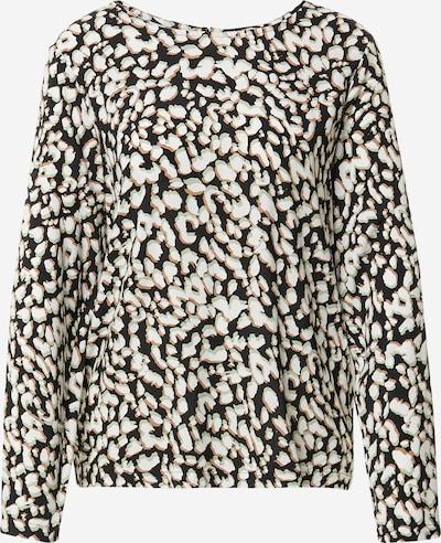 ICHI Shirt in beige / hellgrün / schwarz / weiß, Produktansicht