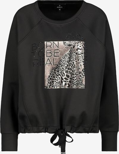 monari Sportisks džemperis, krāsa - pūderis / melns, Preces skats